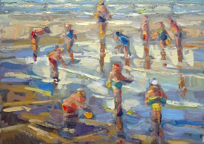 2015 Anneke van der Lende - Summertime beach