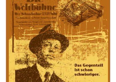 Tucholsky - Der Vorteil der Klugheit besteht darin, dass man sich umstellen kann.