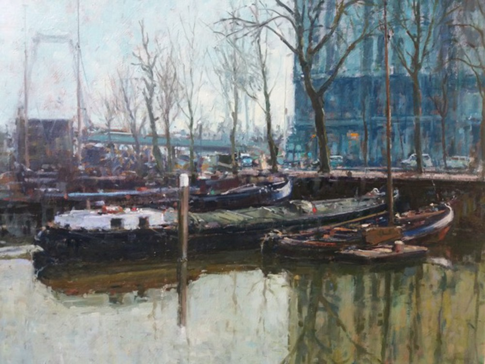 Achterhoekse meesters - Hennie de Korte - Haven Rotterdam