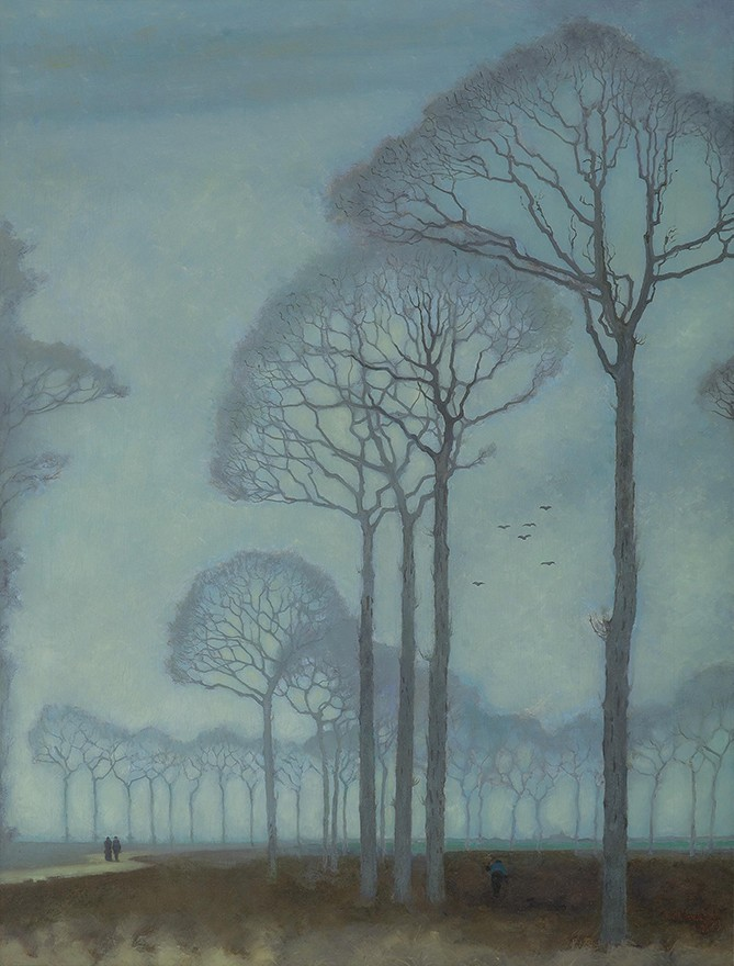 Jan Mankes - Bomenrij