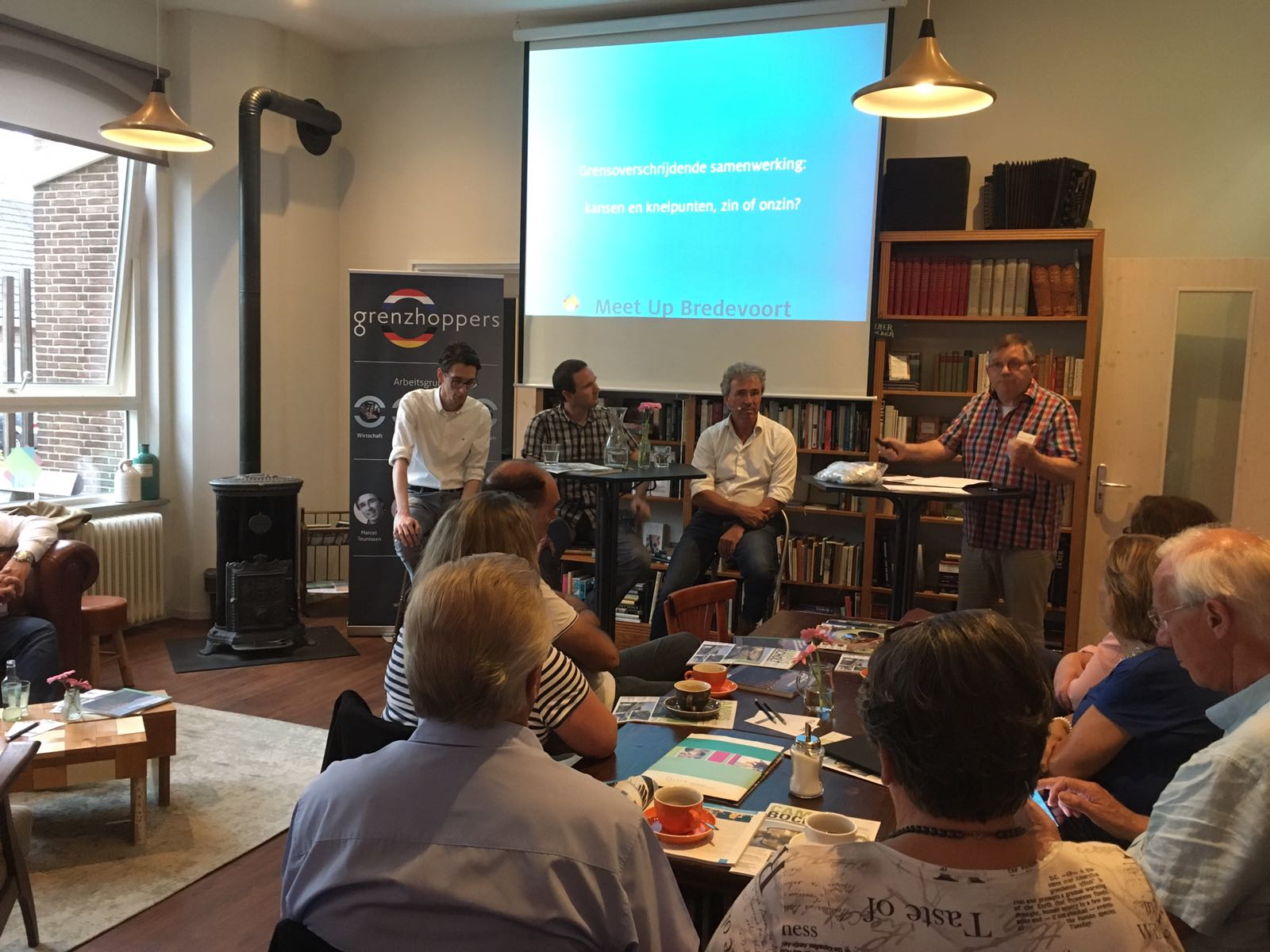 Meet up over grensoverschrijdende samenwerking