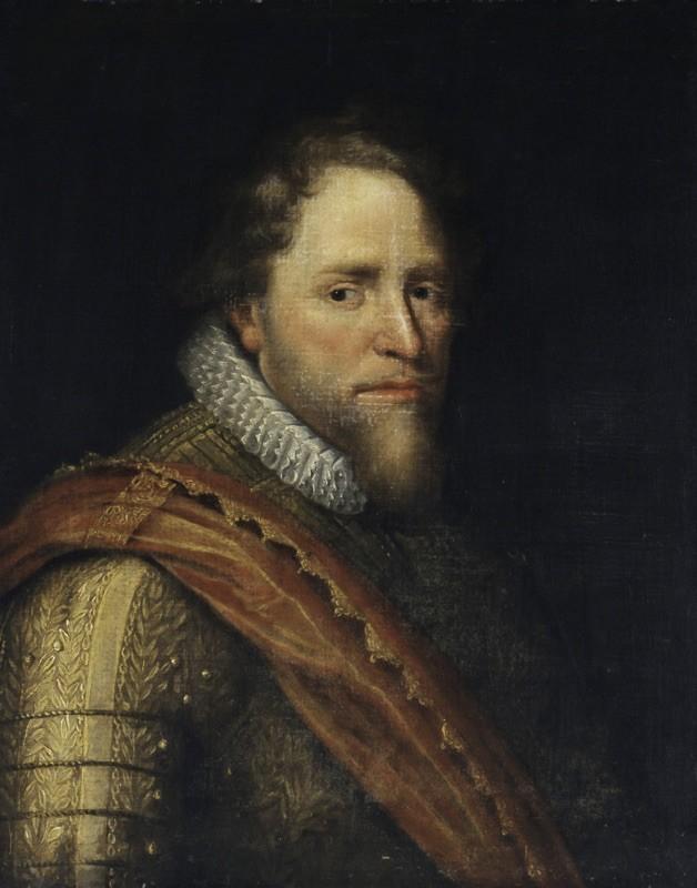 Portret van Maurits, prins van Oranje (1567-1625) ca. 1620 - Atelier Michiel Jansz. van Mierevelt, 1567-1641