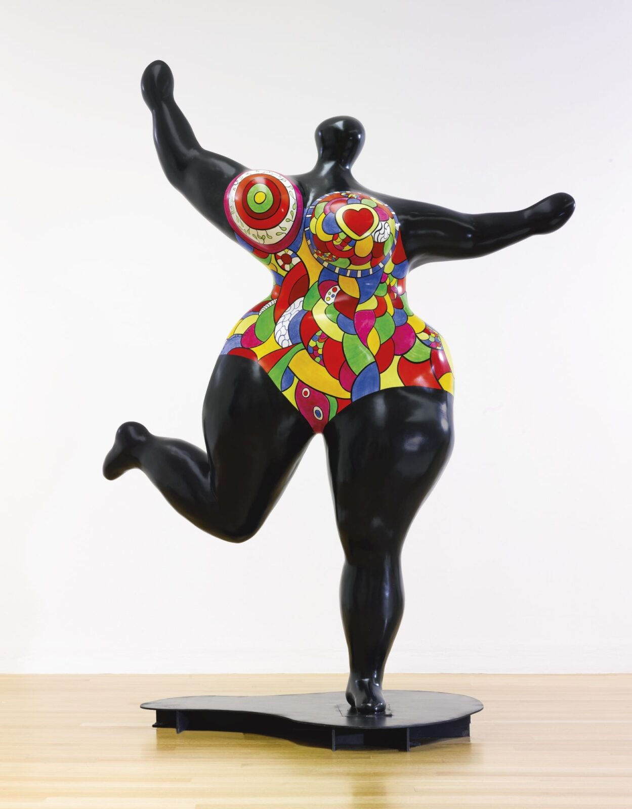 Niki de Saint Phalle - Zwarte staande NaNa