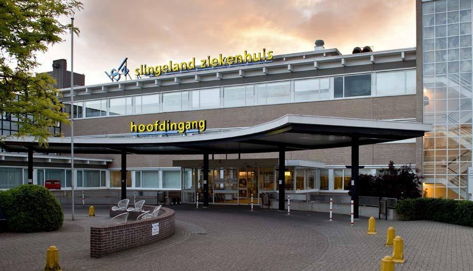 Hoofdingang Slingeland Ziekenhuis Doetinchem (c) SZ