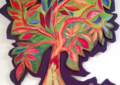 Levensboom met geliefden