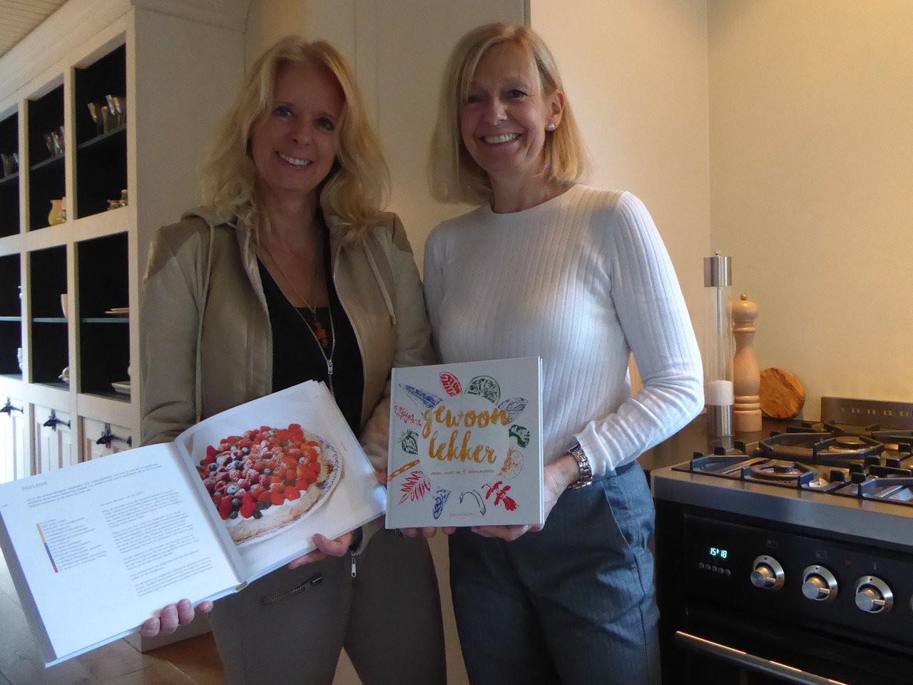Super trots op 'Gewoon lekker' kookboek - Ellen Richardson  en Sietske Nogueras