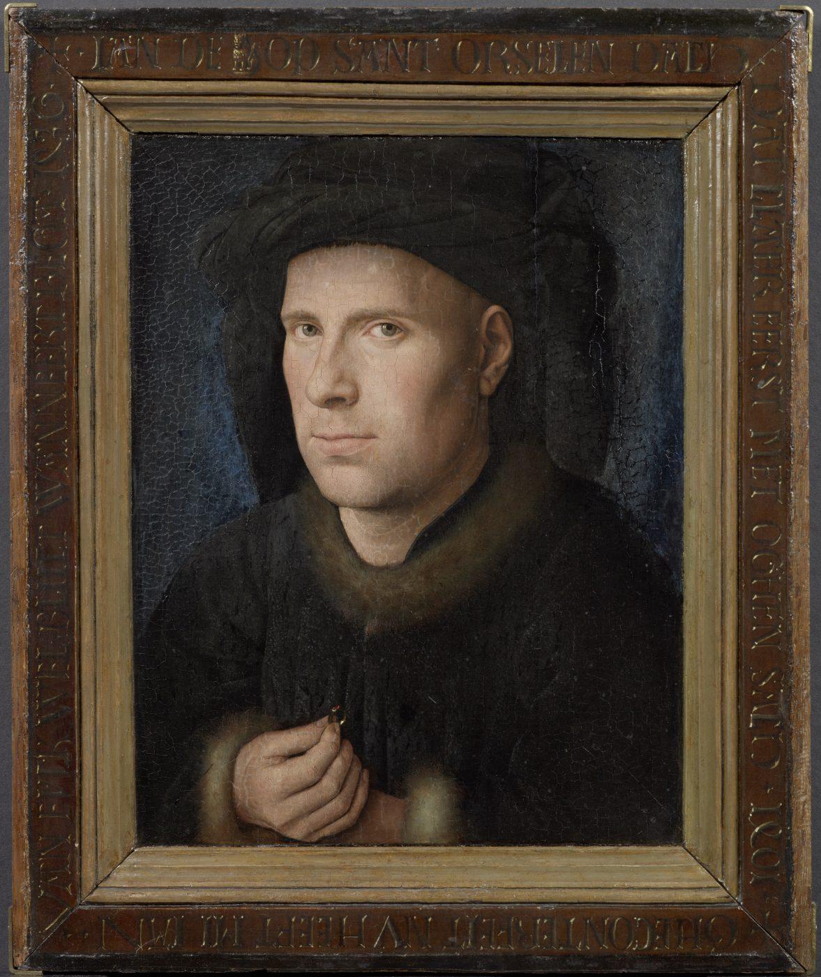 Jan van Eyck, Portret van Jan de Leeuw,