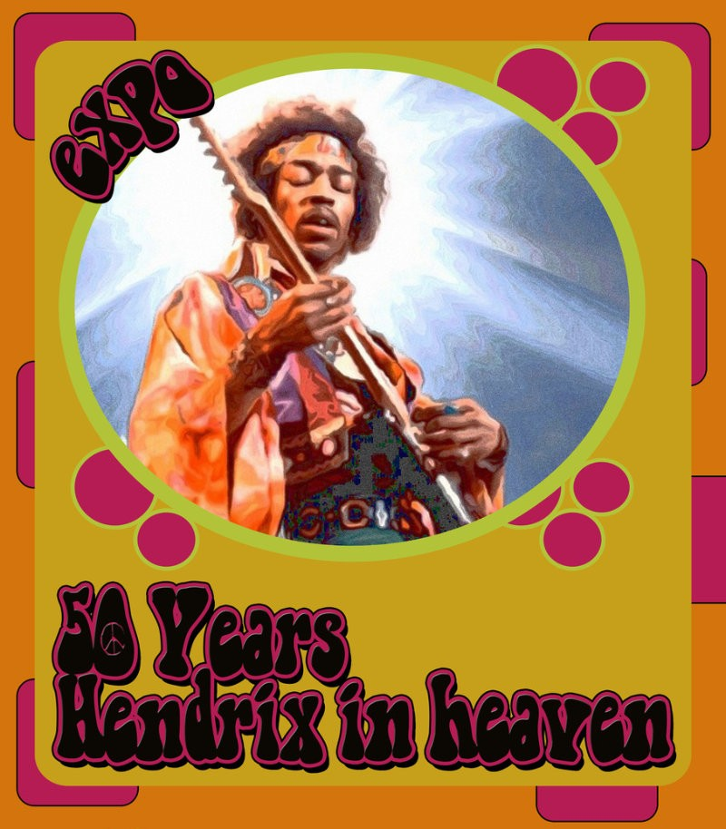 50 Years Hendrix In Heaven: expositie in de Koppelkerk
