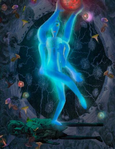Shiva and the burning cosmos
