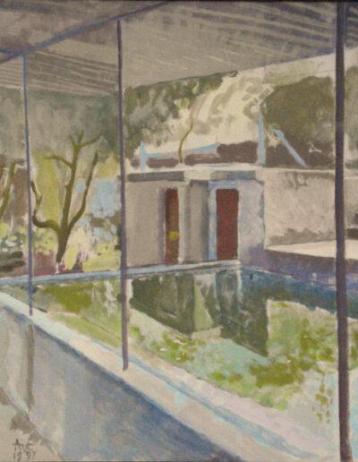 Wasplaats in de Boomgaard van Antonio