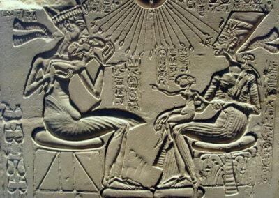 Echnaton, Nefertiti en hun kinderen, 1340 v. Chr