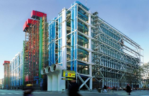 Centre Pompidou - (c) Amelie Dupont Architecte Renzo Piano et Richard Rogers