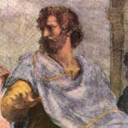 aristoteles schilderij