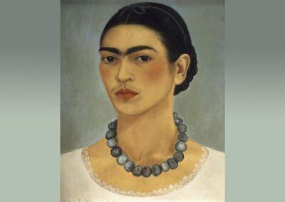 Frida Kahlo - Zelfportret met ketting (1933)