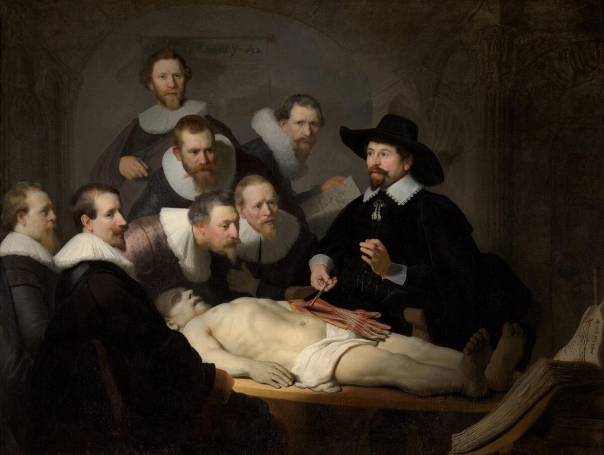 Rembrandt- De anatomische les van Dr. Nicolaes Tulp