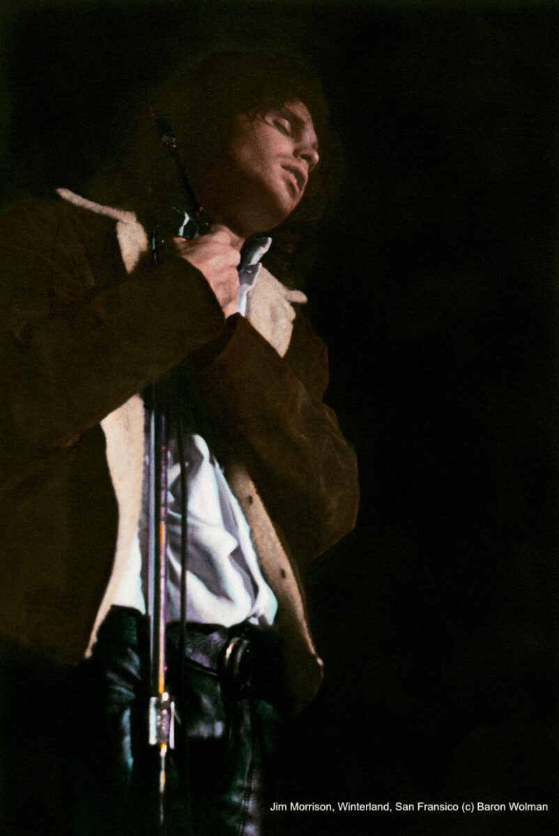 Baron Wolman - Jim Morrison, Winterland, San Francisco, 1967