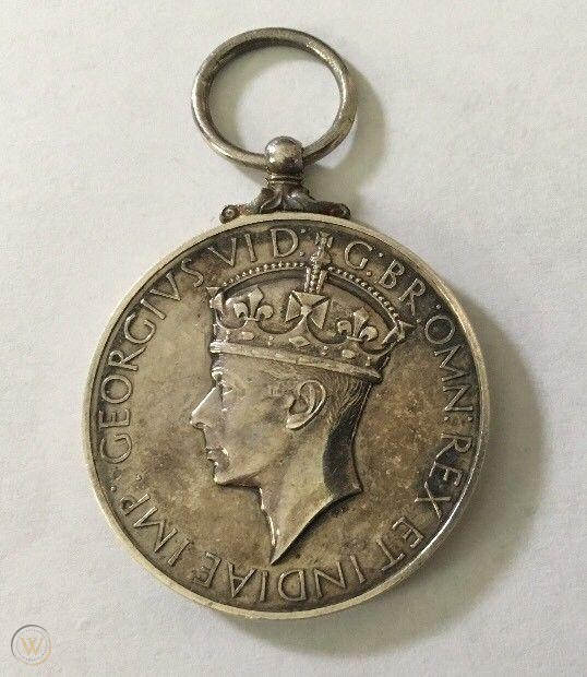 Medal for Courage King George VI